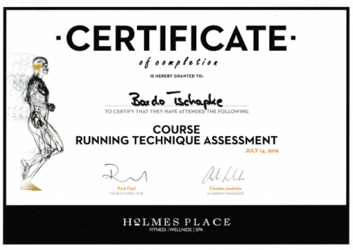 Running Assessment